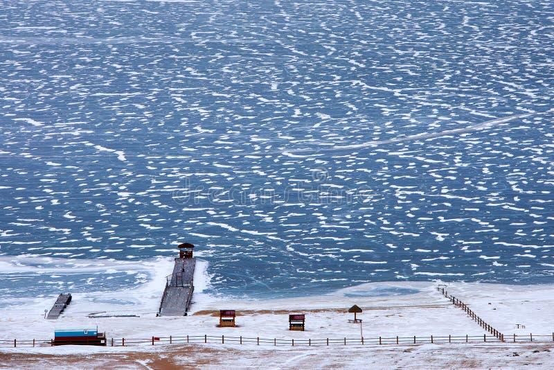Download Cais No Lago Baikal Congelado Em Dezembro Imagem de Stock - Imagem de paisagem, gelo: 65580429