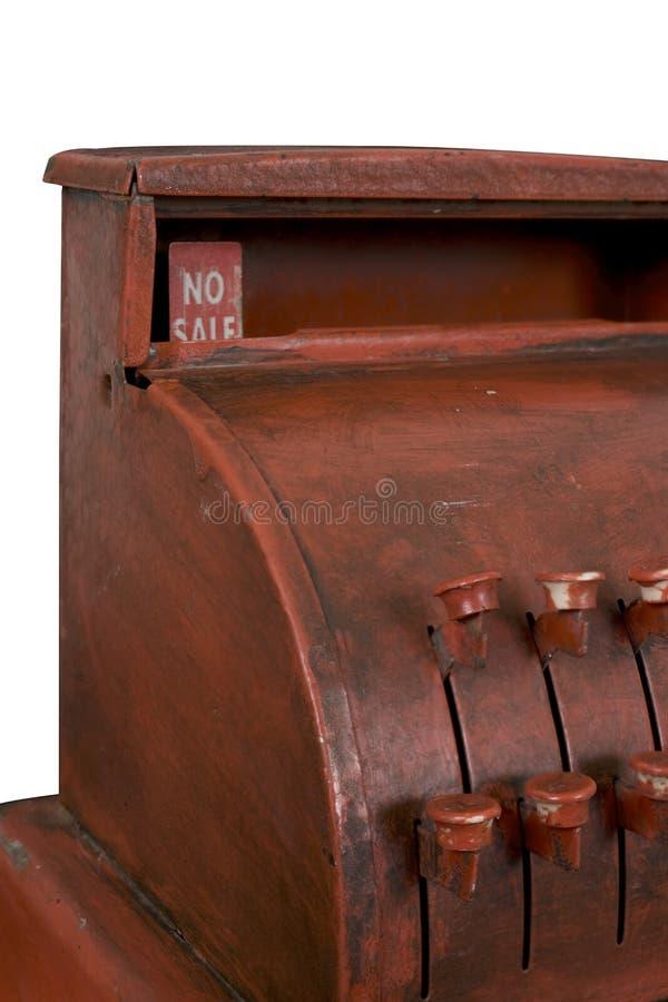 Caisse comptable antique photos libres de droits