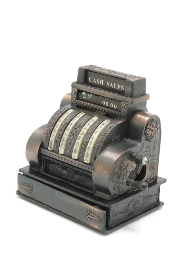 Caisse comptable miniature photos stock
