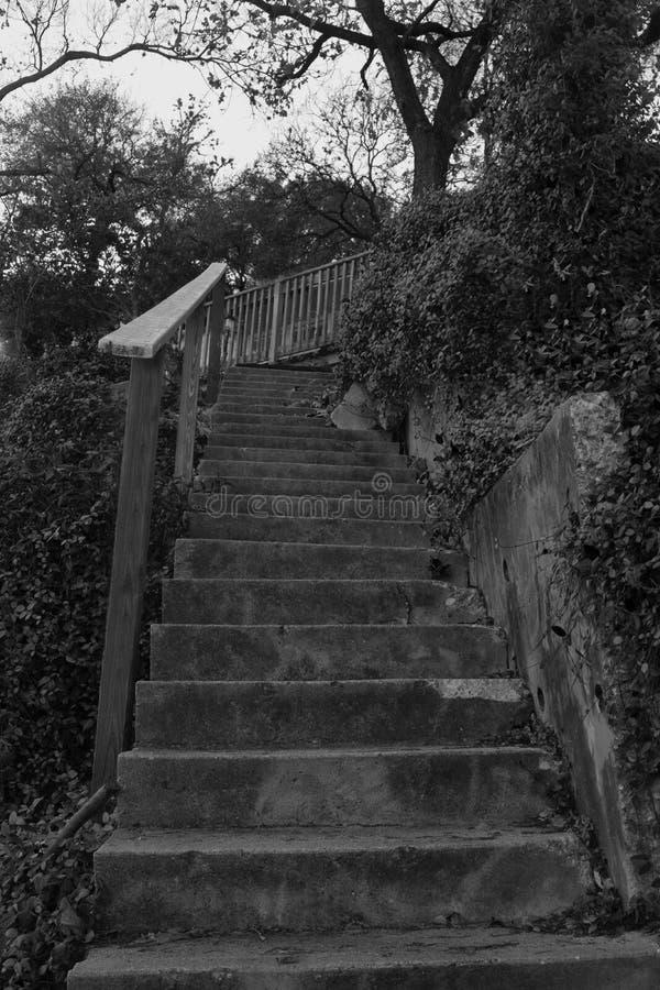 Caisse d'escalier photos stock