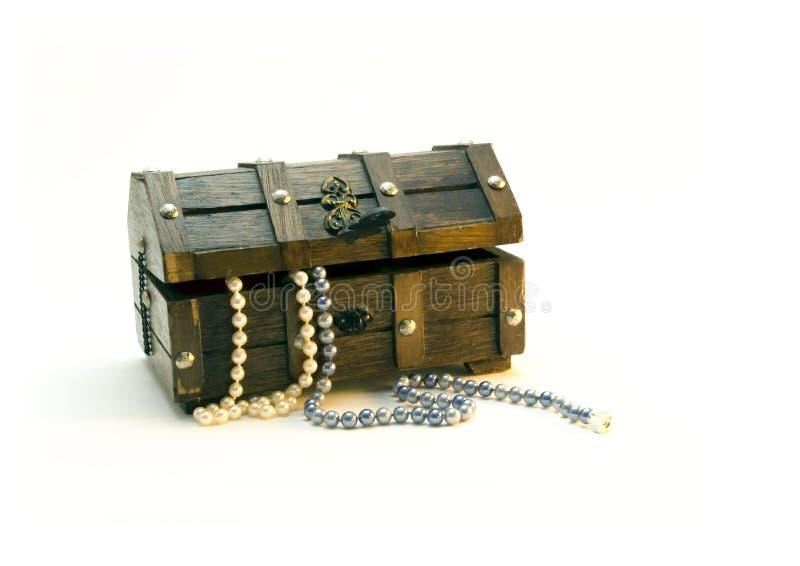 Caisse de bijou photos libres de droits