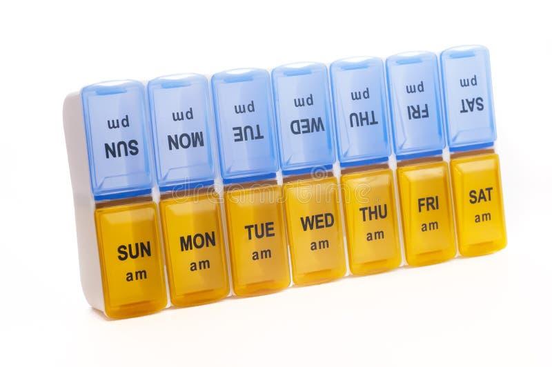 Caisse de pilule photographie stock libre de droits