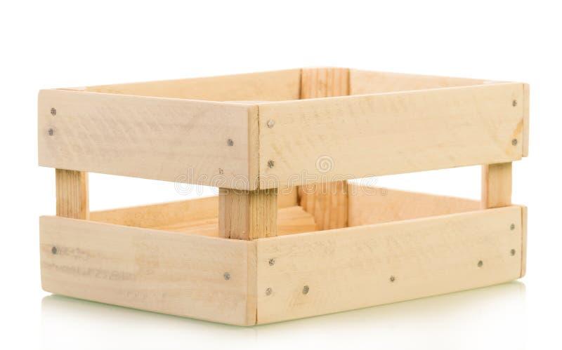 Caisse en bois photo libre de droits
