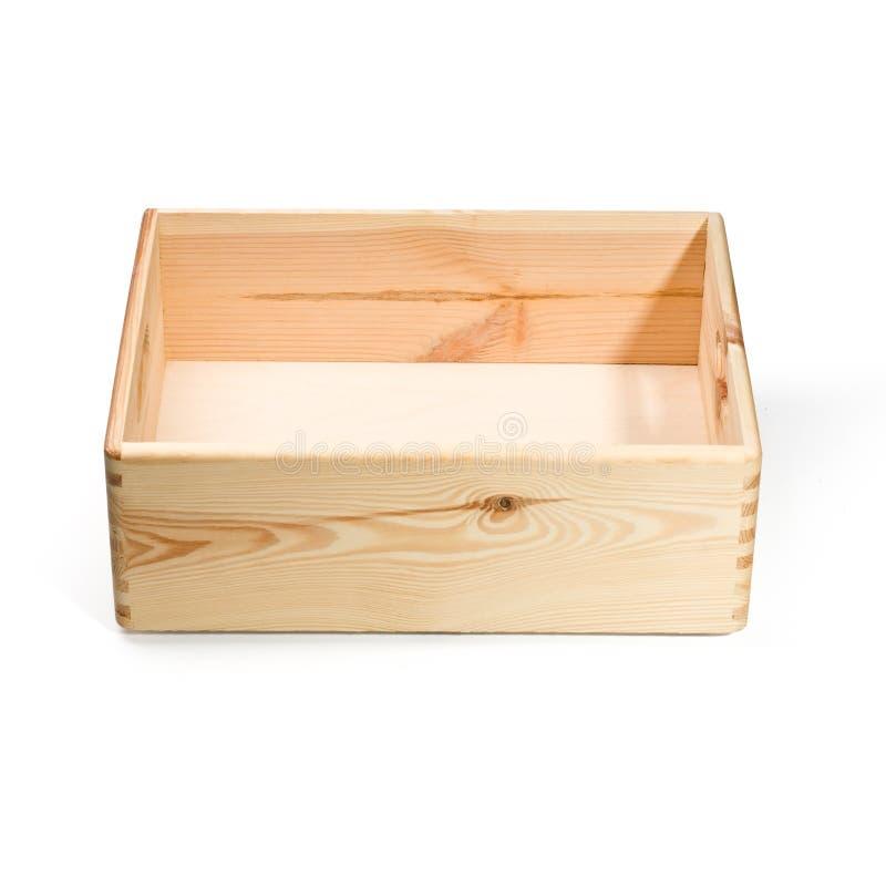 Caisse en bois vide photo stock