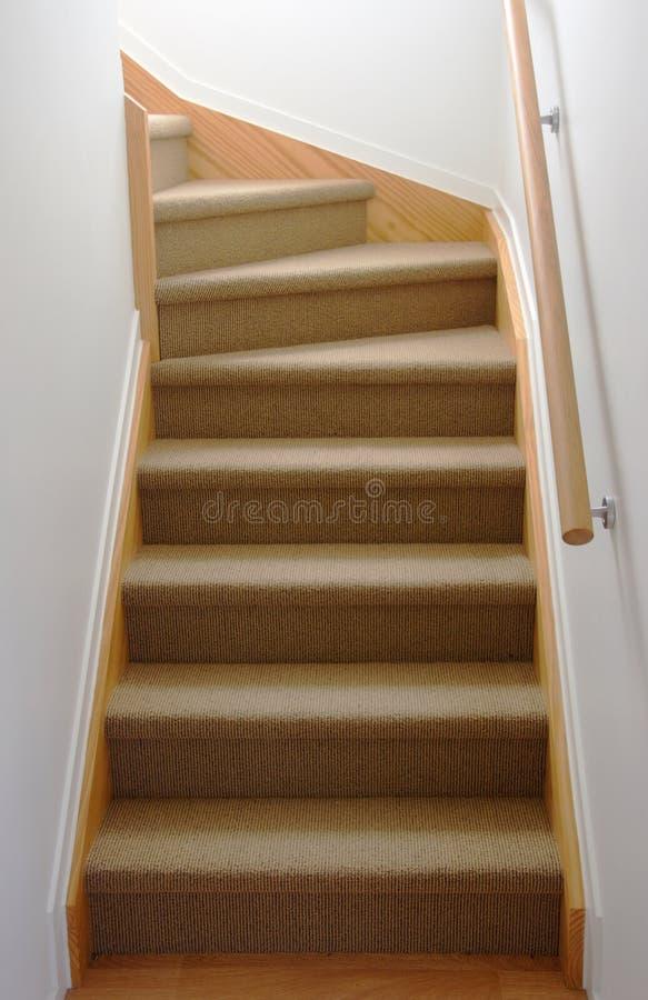 Caisse interne d'escalier image stock