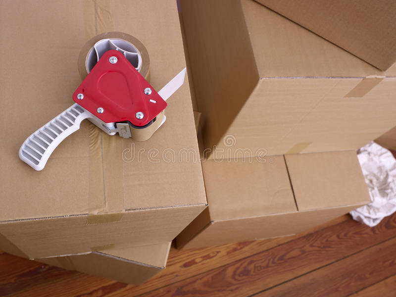 Caisses d'emballage  photos libres de droits