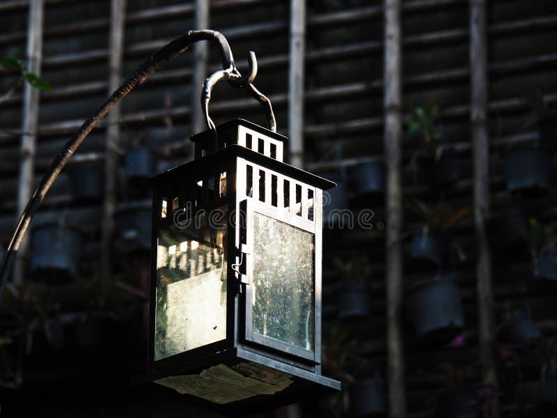 Caisson lumineux de bougie photographie stock