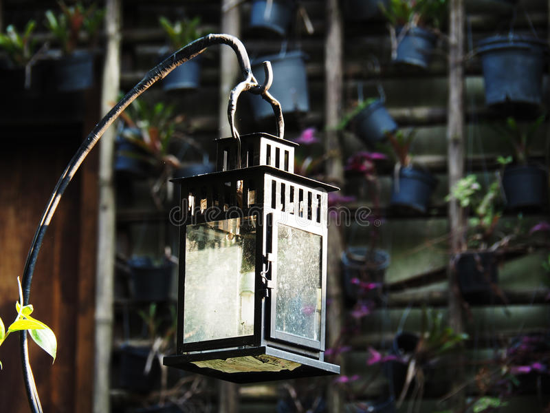 Caisson lumineux de bougie image libre de droits