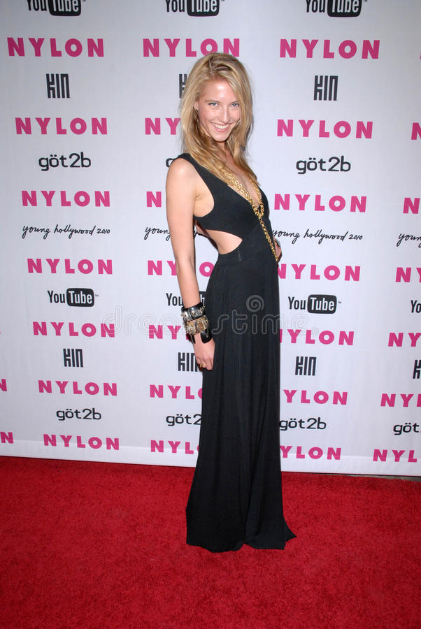 Caitlin Gerard at the NYLON Magazine's May Issue Young Hollywood Launch Party, Roosevelt Hotel, Hollywood, CA. 05-12-10 stock photo