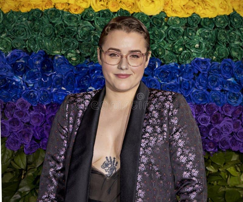 Caitlin Kinnunen en Tony Awards 2019 fotos de archivo libres de regalías