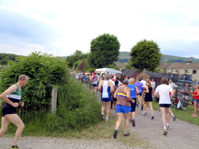Caiu a raça, esperança, Derbyshire. fotografia de stock royalty free