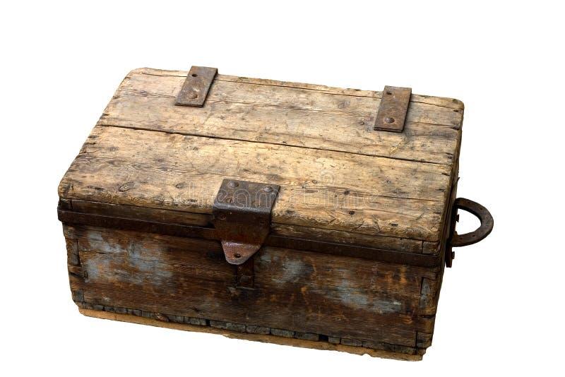 Download Caixa antiga foto de stock. Imagem de madeira, marrom, caso - 526960