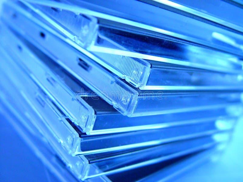 Caixa CD imagens de stock