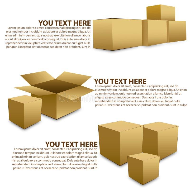 A caixa compõe imagens de stock