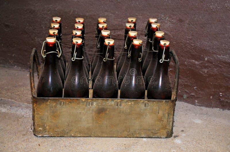 Caixa da cerveja fotografia de stock