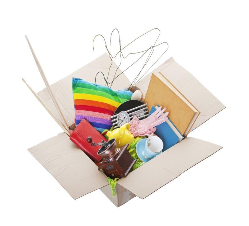 Caixa da doação fotografia de stock