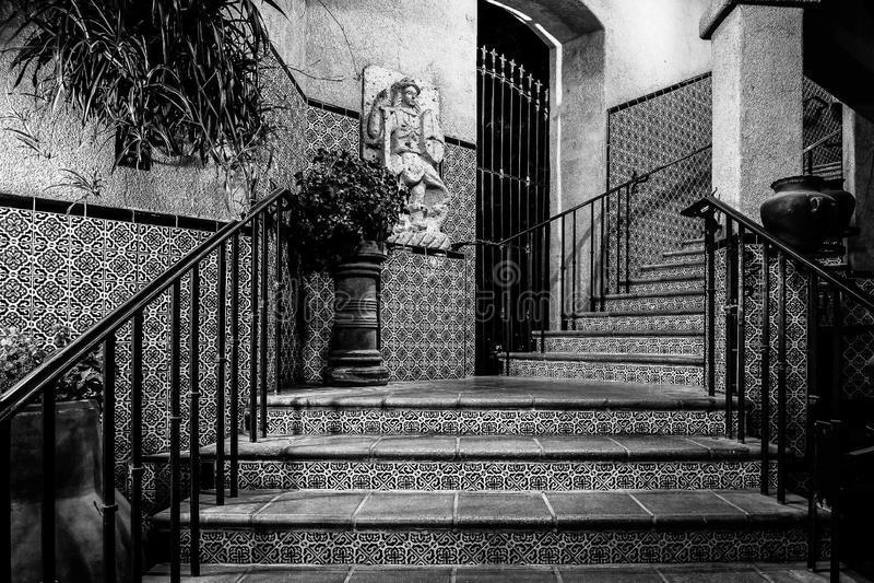 Caixa da escada em Sedona o Arizona imagens de stock royalty free