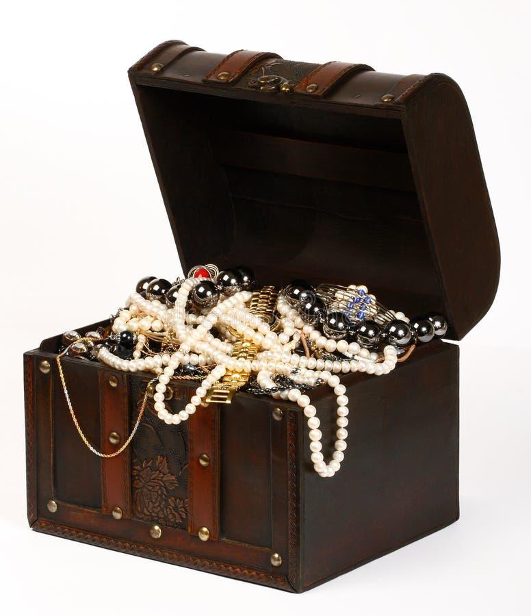 Caixa da jóia foto de stock royalty free