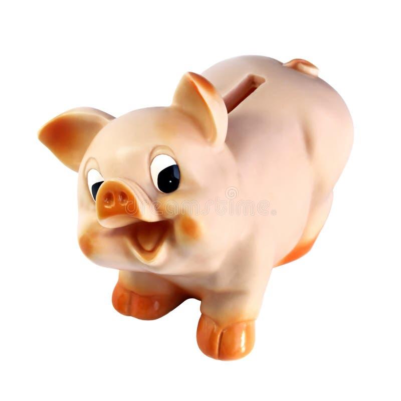 caixa da Porco-moeda fotografia de stock royalty free