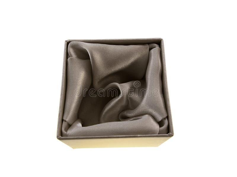 Caixa de cartão para a jóia imagem de stock