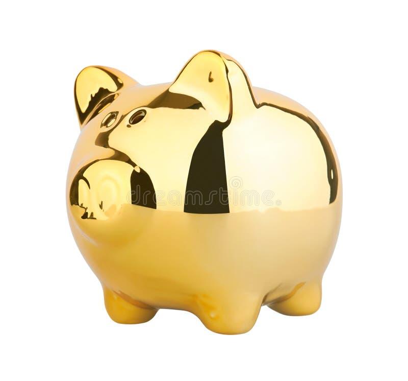 Caixa de dinheiro Piggy imagem de stock