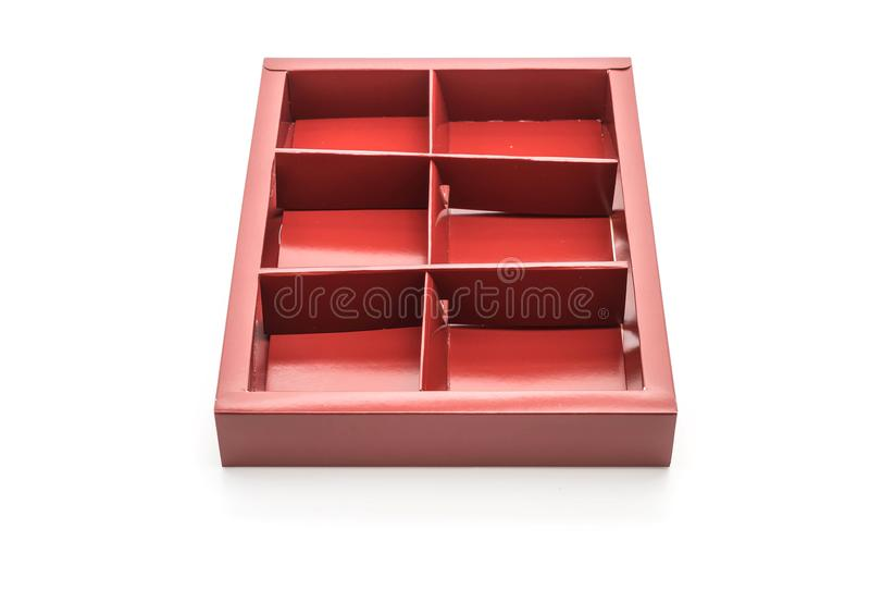 caixa de empacotamento vazia fotos de stock
