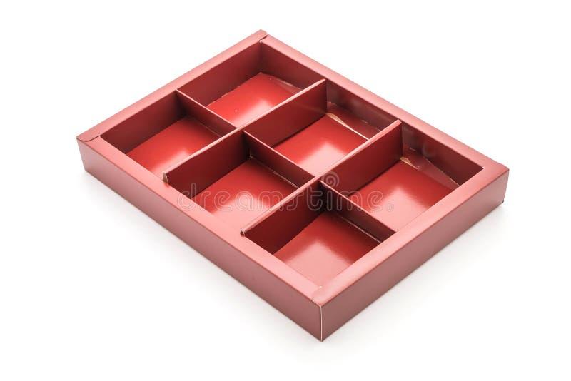 caixa de empacotamento vazia foto de stock
