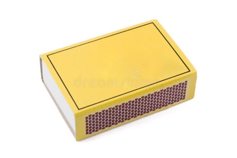 Caixa de fósforos foto de stock