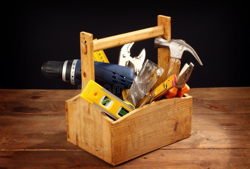 Caixa de ferramentas foto de stock