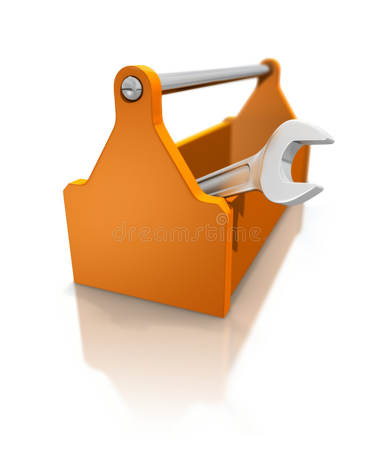 Caixa de ferramentas ilustração do vetor