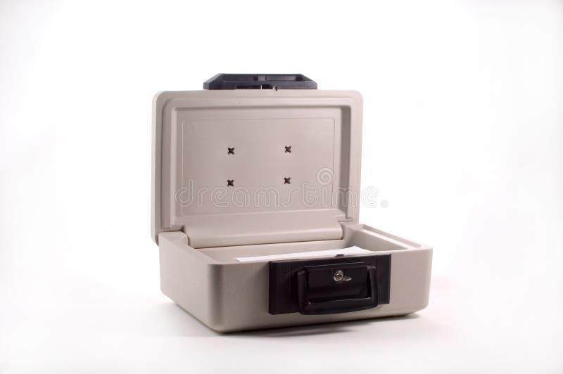 Caixa de Firesafe foto de stock royalty free