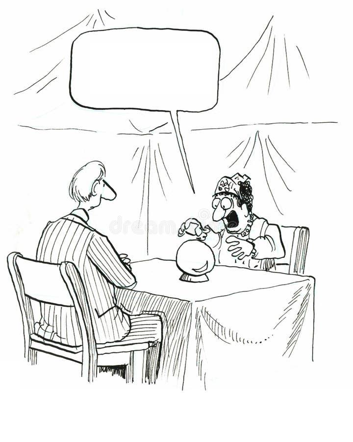 Caixa de fortuna ilustração royalty free