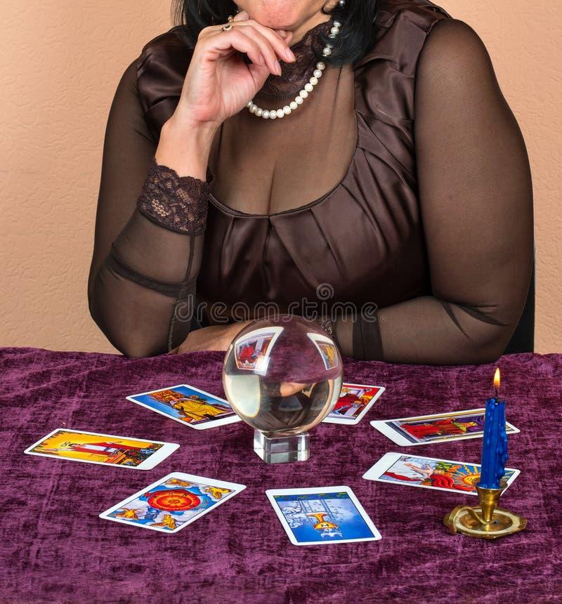 Caixa de fortuna da mulher imagens de stock