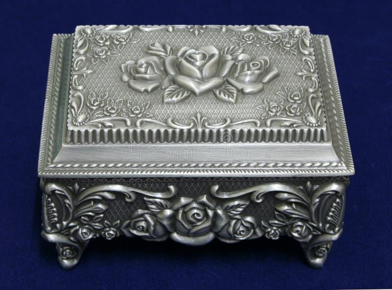 Caixa de jóia foto de stock