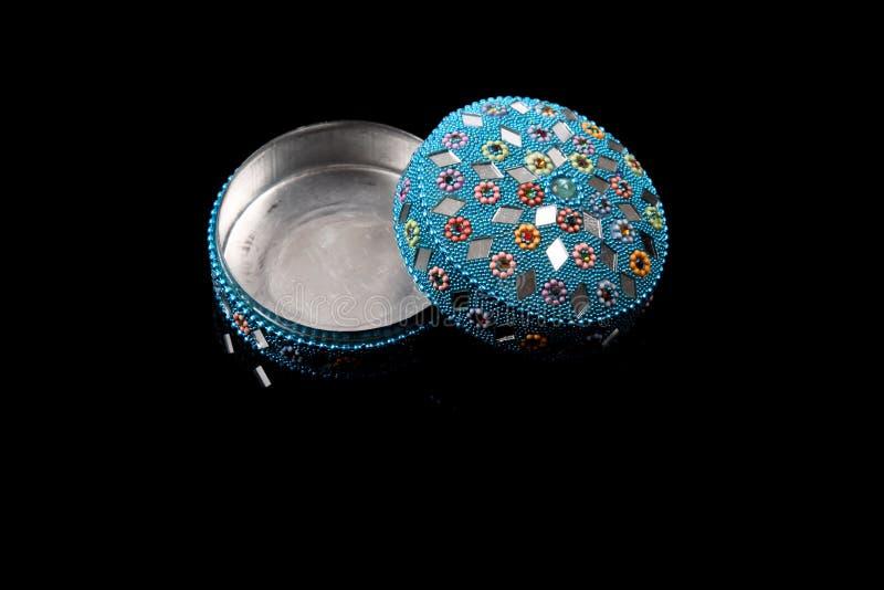 Caixa de jóia vazia imagens de stock