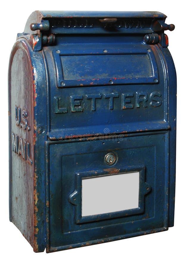 Caixa de letra do vintage foto de stock royalty free