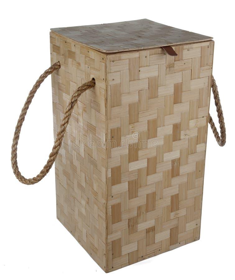 Caixa de madeira da telha imagem de stock royalty free