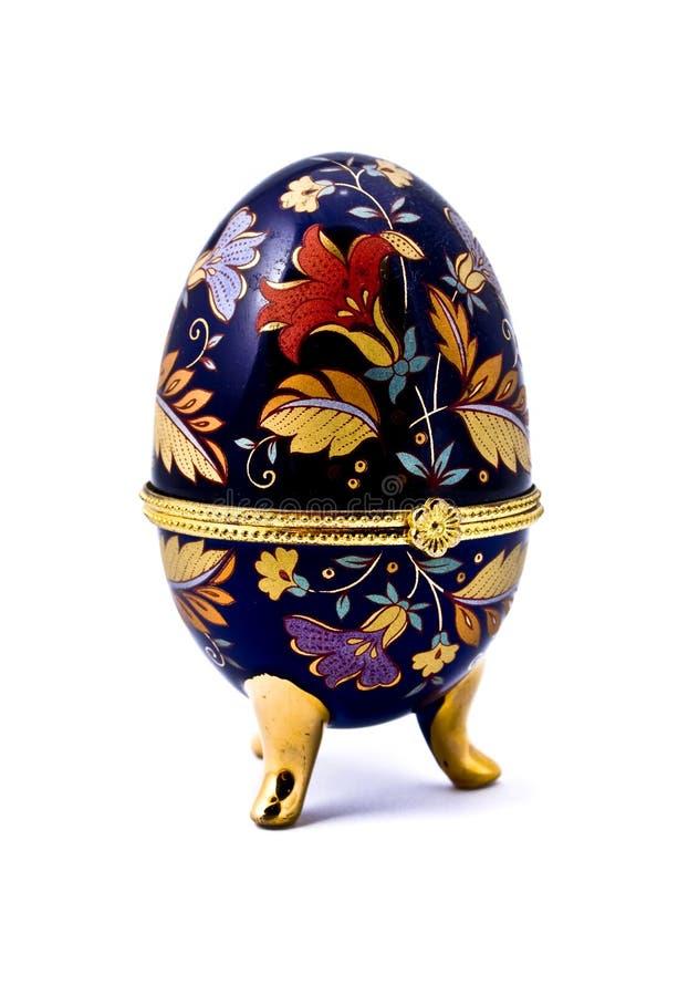 Caixa de ovo para a jóia imagem de stock