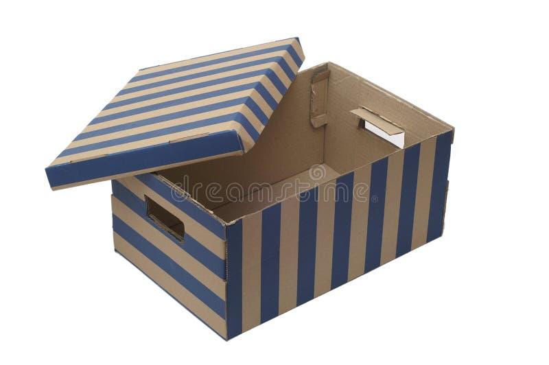 Caixa de papel imagens de stock