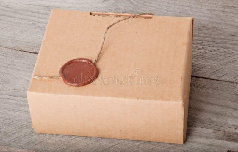 Caixa de papel fotografia de stock