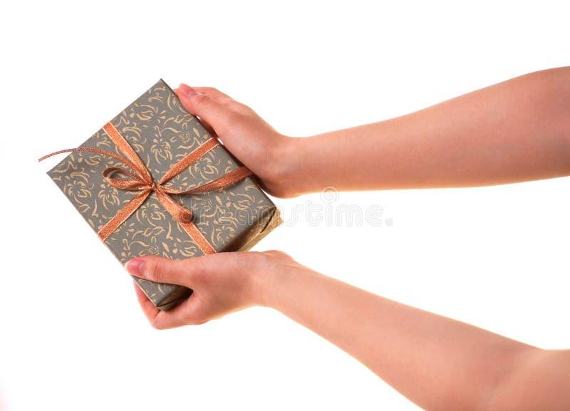 Download Caixa de presente foto de stock. Imagem de envolver, celebration - 111418