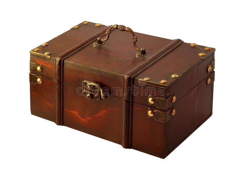 Caixa de presente isolada imagem de stock royalty free