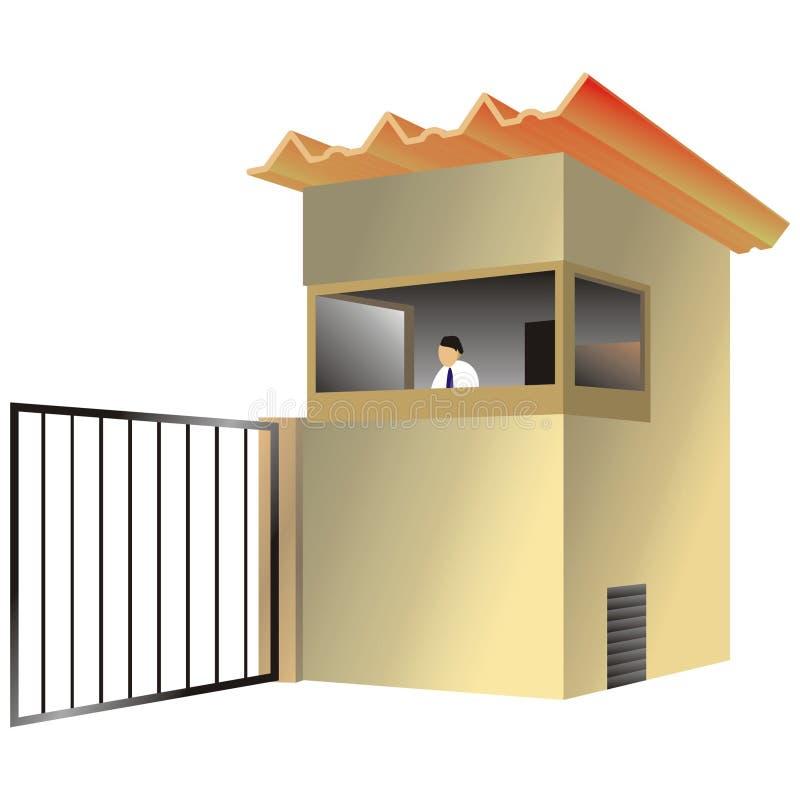 Caixa de sentinela ilustração do vetor