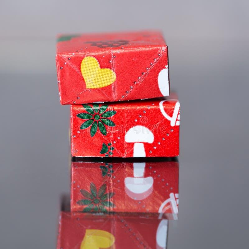 Caixa de souvenir miniatura foto de stock royalty free