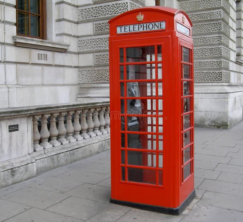 Caixa de telefone de Londres imagem de stock