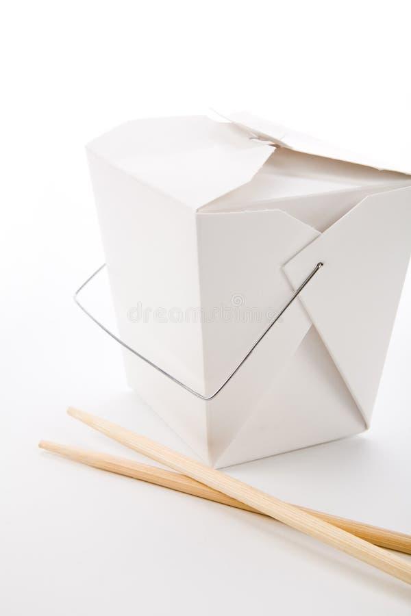 Caixa de To-Go fotos de stock