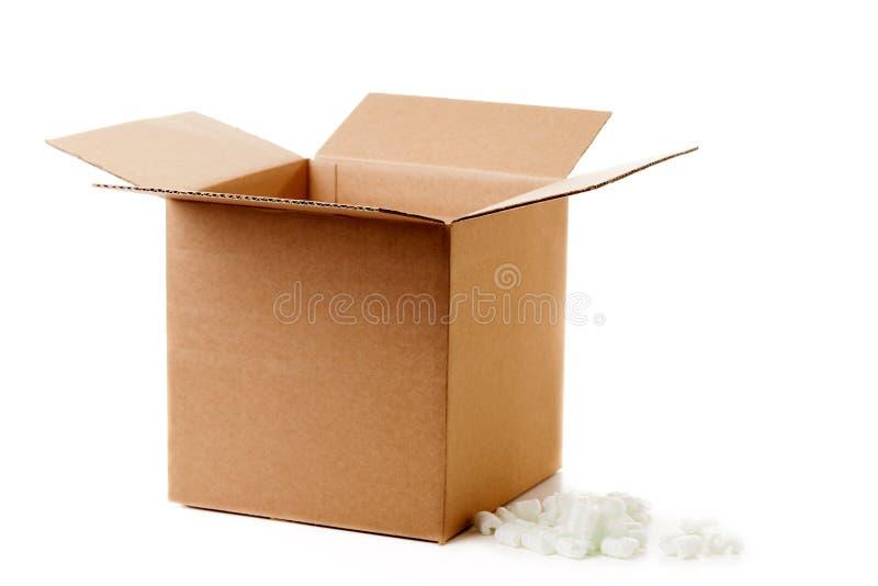 Caixa de transporte fotografia de stock