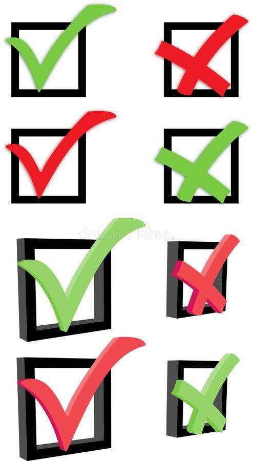 Download Caixa de verificação ilustração do vetor. Ilustração de escolha - 16868957