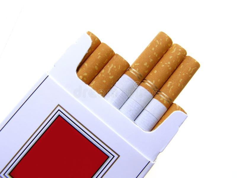 Caixa do cigarro imagens de stock royalty free