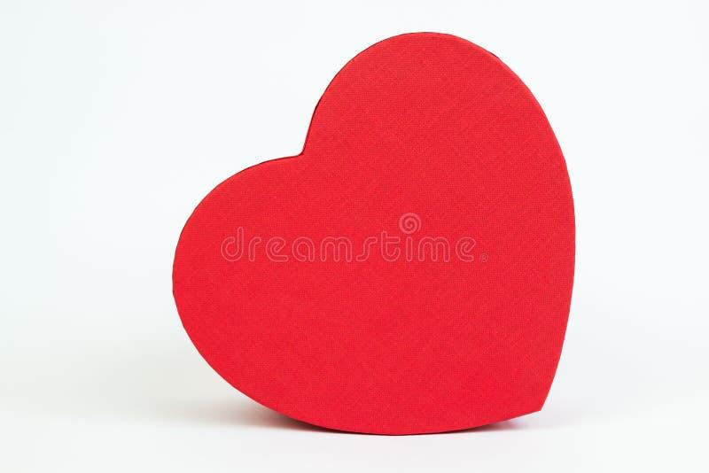 Caixa do coração imagem de stock royalty free